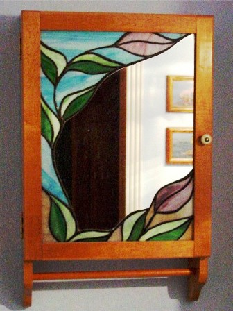cabinet stained glass 1